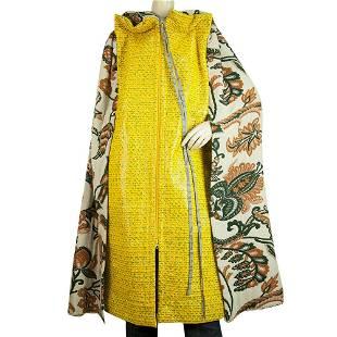 Vivienne Westwood Unisex Floral Brocade Yellow