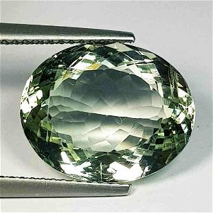 Natural Green Amethyst Oval Cut 8.40 Ct