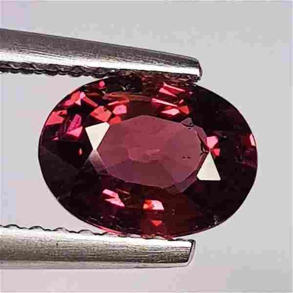 Natural Rhodolite Garnet Oval Cut 1.50 ct