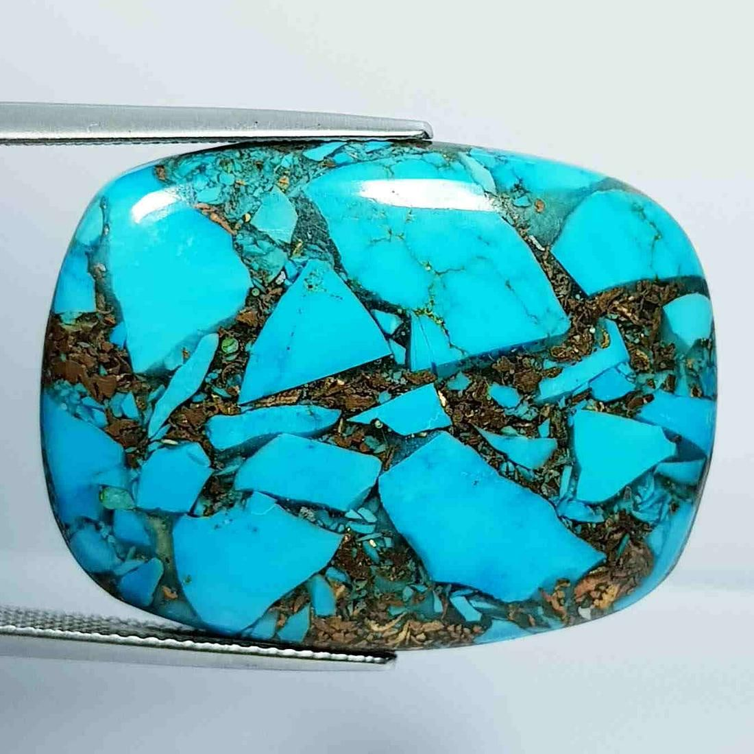 35.20 ct Natural Copper Turquoise