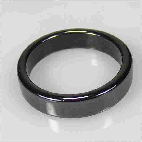 15.71 Ct Natural Gun Metal Round Ring