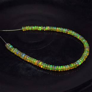 12.90 Ct Natural 90 Drilled Fire Opal Beads