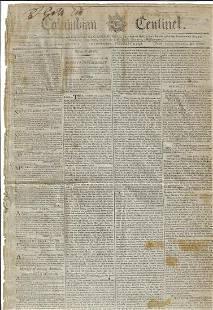 1798 Newspaper Impeachment of William Blount