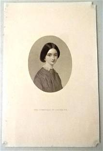 c1850 Lot of Engravings English Countesses Ladies