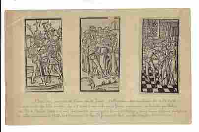 1500 Three Woodcuts Paris Early Printing