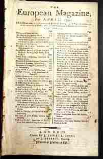 1794 European Magazine Articles of Capitulation