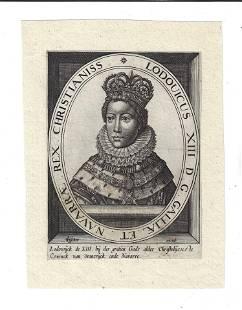 c1650 Engraving Cornelis Visscher