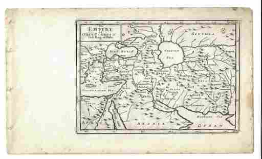 1747 Map of Persian Empire of Cyrus