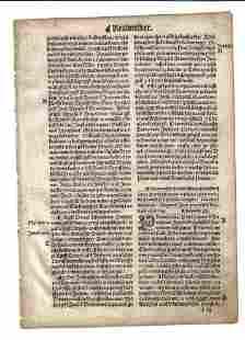 1537 Bohemian Bible Leaf