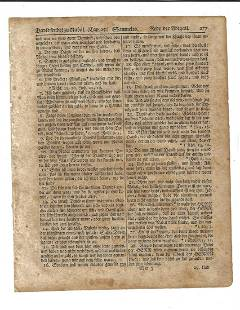 1776 Revolutionary war Bible Leaf Saur