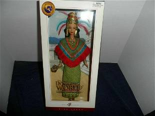 2004 Barbie Doll - Princess of Ancient Mexico - NRFB