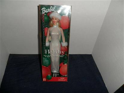 2001 - Holiday Excitement Barbie - NRFB