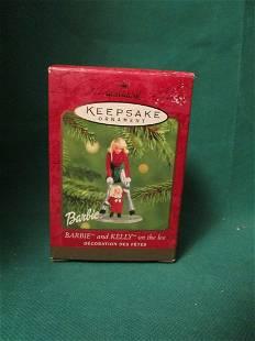 2001 Hallmark Keepsake Ornament - Barbie and Kelly on
