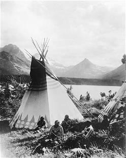 1909, NATIVE WOMEN; ROCKY MOUNTAINS