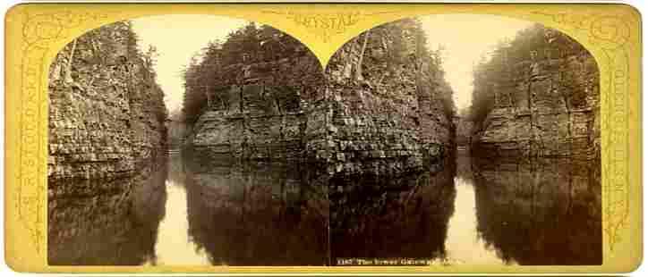 1870, STEREOVIEW_LOWER GATEWAY, BY S.R. STODDARD