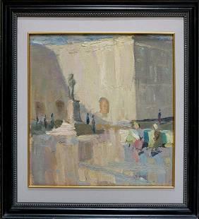 Oil painting Landscape Square Dulfan Lucien
