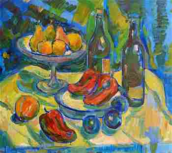 Oil painting Still life Peter Tovpev