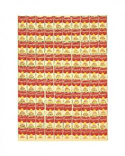 """Andy Warhol - 100 Cans - 1991 Serigraph 20"""" x 16"""""""