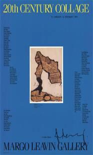 Claes Oldenburg - 20th Century Collage - 1991 Offset