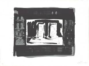 """Jasper Johns - Ale Cans - 1975 Lithograph - SIGNED 23"""""""