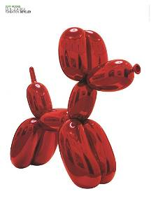 Jeff Koons (After) - Balloon Dog (Red) - 2012 Offset