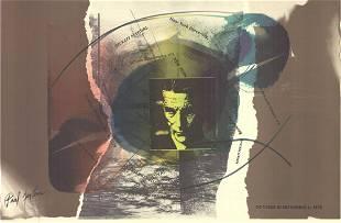Paul Jenkins - Beckett Festival - 1978 Offset