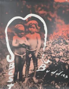 Julian Schnabel - Best Buddies - 1992 Serigraph -