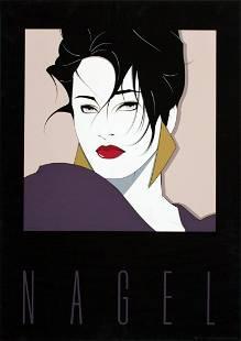Patrick Nagel - Commemorative No. 1 - 1984 Serigraph