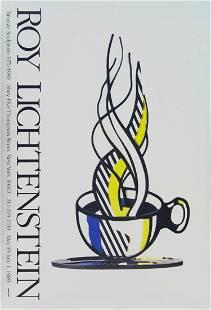 Roy Lichtenstein - Cup and Saucer - 1989 Offset