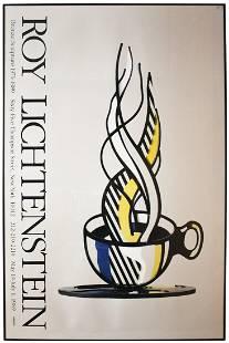 Roy Lichtenstein - Cup and Saucer II - 1989 Offset