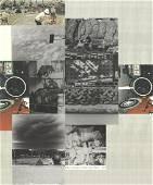 Robert Rauschenberg - Untitled - 1984 Mixed Media -