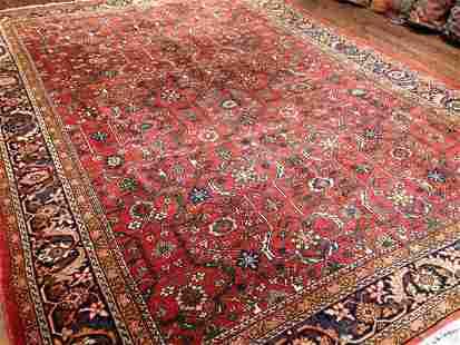 Antique Mahal Carpet 9'11'' X 13'5''