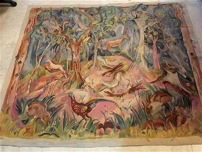 Antique Tapestry 5'2'' X 6'1''