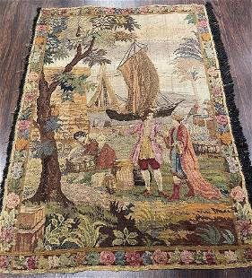 Antique Tapestry 3'5'' X 4'6''