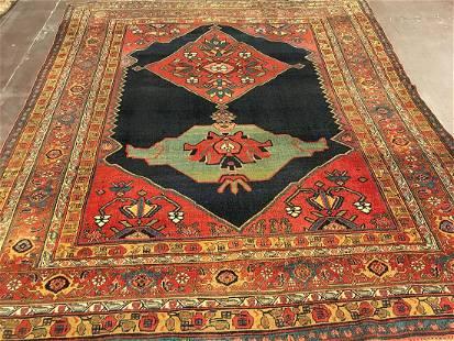 Antique Bidjar Carpet 7'9'' X 9'0''