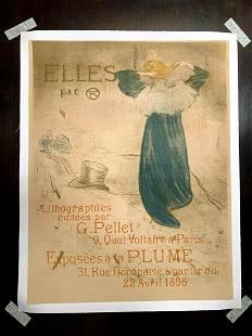Frontispiece for Elles - Art by Henri de