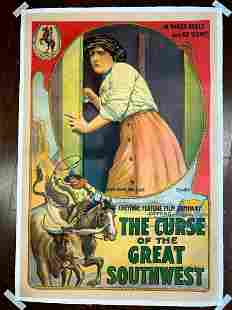 The Curse Of The Great Southwest (1913) US One Sheet