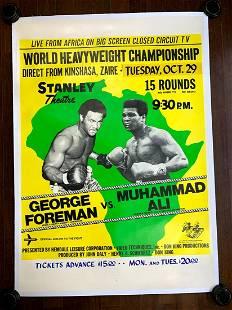Muhammad Ali vs. George Frazier - Rumble in the Jungle!