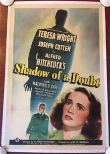 Shadow Of A Doubt - Hitchcock (1943) US 1 SH Movie