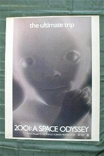 2001: A Space Odyssey (UK, 1968) US One Sheet Movie