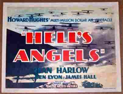 Hell's Angels - Jean Harlow, Howard Hughes (1930) US