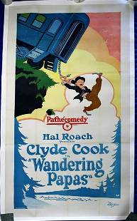 Wandering Papas (Hal Roach Studios, 1926) Three Sheet