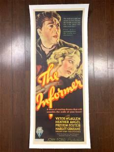 The Informer - Dir. John Ford (1935) US Movie Poster