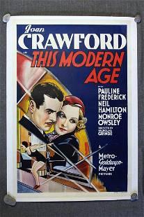 This Modern Age - Joan Crawford (1931) Australian One