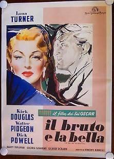 The Bad and The Beautiful - Lana Turner (1953) Italian