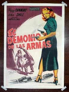 Gun Crazy aka El Demonio de las Armas - Art by Jano