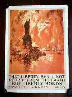 That Liberty Shall Not Perish - Art by Joseph Pennell