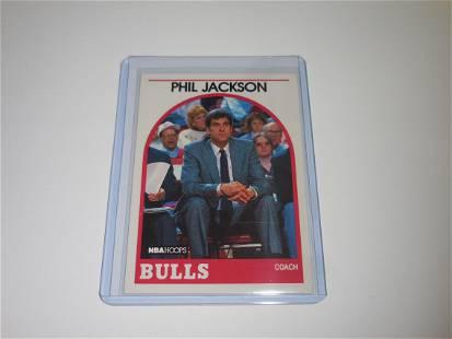 1989 HOOPS #266 PHIL JACKSON CHICAGO BULLS MGR