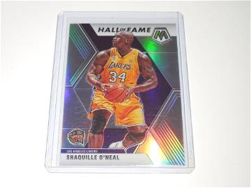 2019-20 PANINI MOSAIC SHAQUILLE O'NEAL HALL OF FAME