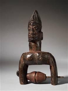 Yoruba People,Nigeria.Heddle Pulley